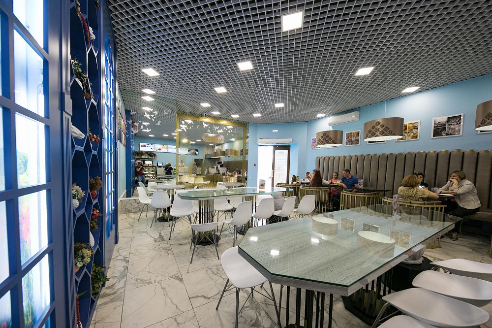 Café Bulbyanaya, no Pavilhão da Bielorrússia. Onde comer doces típicos no parque VDNKh